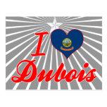 I Love Dubois, Idaho Postcards