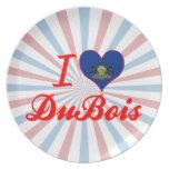 I Love DuBois, Pennsylvania Dinner Plates