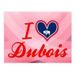 I Love Dubois, Wyoming Post Card