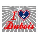 I Love Dubois, Wyoming Postcard