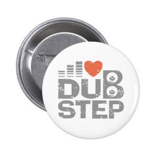 I Love Dubstep 2 Inch Round Button