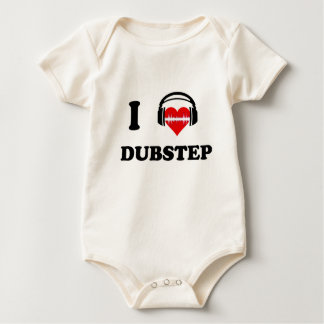 I Love Dubstep Baby Bodysuit