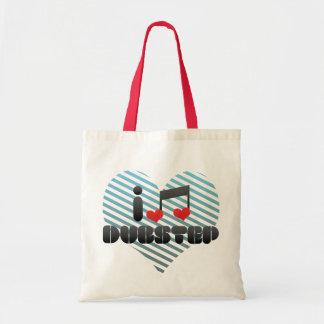 I Love Dubstep Canvas Bag