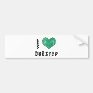 I Love Dubstep Bumper Sticker