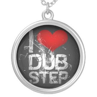 I Love Dubstep necklace