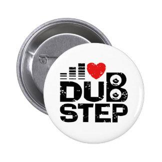 I Love Dubstep Pinback Button