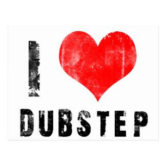 I Love Dubstep Postcard