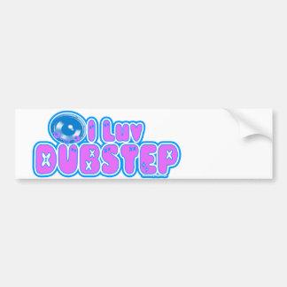 I love DUBSTEP sticker