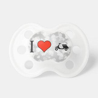 I Love Ducati Pacifier