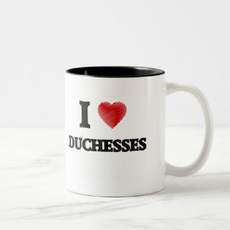 I love Duchesses Two-Tone Coffee Mug