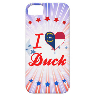 I Love Duck, North Carolina iPhone 5 Cover