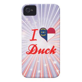 I Love Duck, North Carolina iPhone 4 Case-Mate Cases