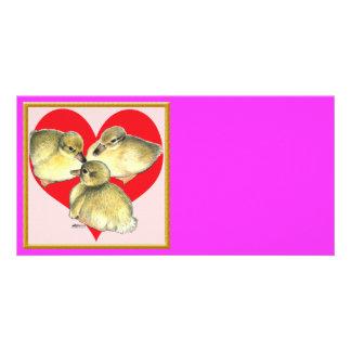 I Love Ducklings! Card