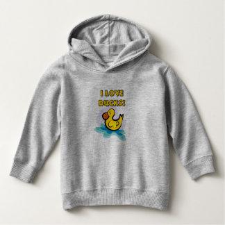 I Love Ducks Hoodie