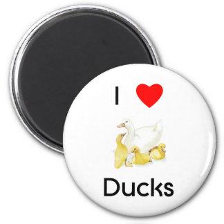 I love ducks Magnet