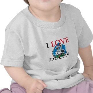 I Love Ducks Tee Shirts
