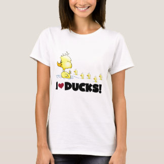 I Love Ducks Tshirts and Gifts