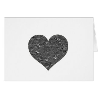 I LOVE DUCT TAPE - DUCT TAPE HEART GREETING CARD