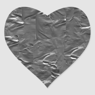 I LOVE DUCT TAPE - DUCT TAPE HEART HEART STICKER