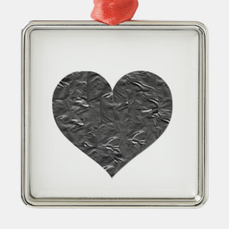 I LOVE DUCT TAPE - DUCT TAPE HEART METAL ORNAMENT