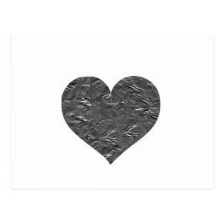 I LOVE DUCT TAPE - DUCT TAPE HEART POSTCARD