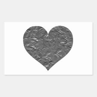 I LOVE DUCT TAPE - DUCT TAPE HEART RECTANGULAR STICKER