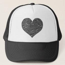 I LOVE DUCT TAPE - DUCT TAPE HEART TRUCKER HAT