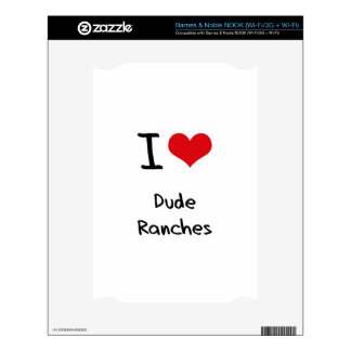 I Love Dude Ranches NOOK Skin