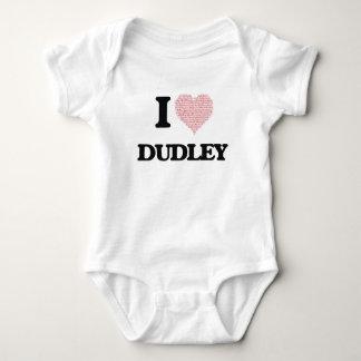 I Love Dudley Baby Bodysuit