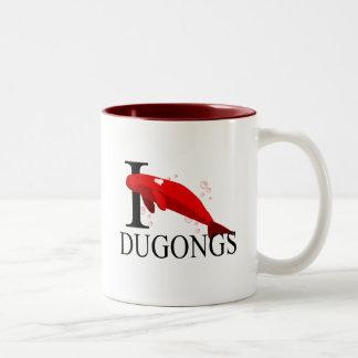 I Love Dugongs Mugs