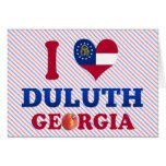 I Love Duluth, Georgia Greeting Card