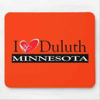 I Love Duluth Minnesota Mousepads