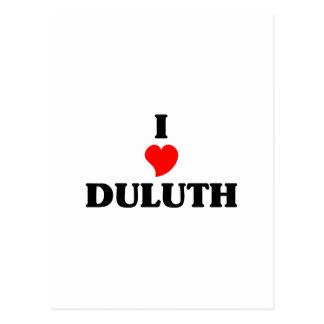 I love Duluth Postcard