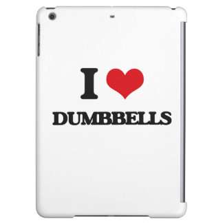 I love Dumbbells Cover For iPad Air