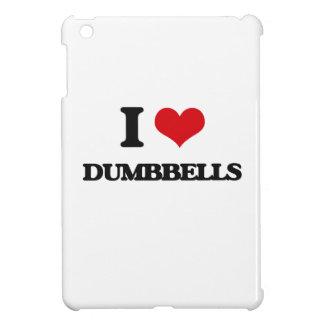 I love Dumbbells Cover For The iPad Mini