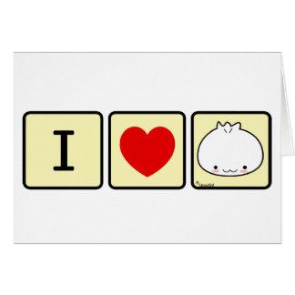 I Love Dumpling Card