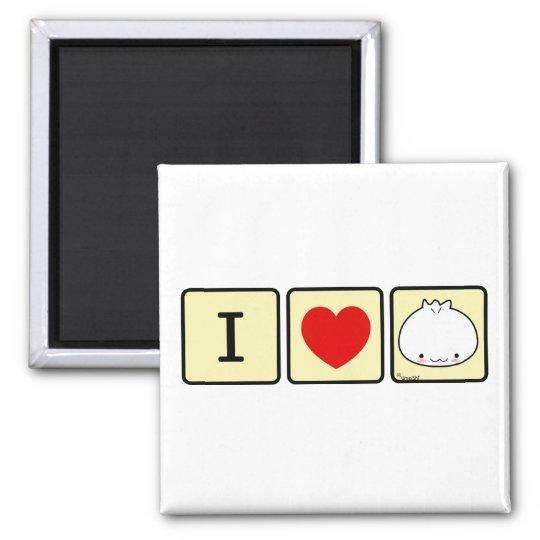 I Love Dumpling Magnet