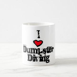 I Love Dumpster Diving Coffee Mug