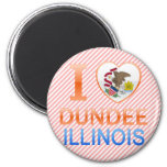 I Love Dundee, IL Magnet