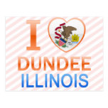 I Love Dundee, IL Postcards