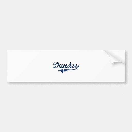 I Love Dundee Michigan Car Bumper Sticker