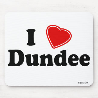 I Love Dundee Mouse Pad