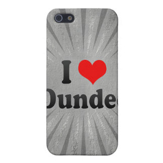 I Love Dundee, United Kingdom Cover For iPhone 5