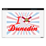 "I Love Dunedin, Florida Decals For 15"" Laptops"