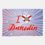 I Love Dunedin, Florida Towels