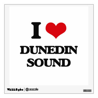 I Love DUNEDIN SOUND Wall Stickers
