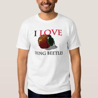I Love Dung Beetles Tees