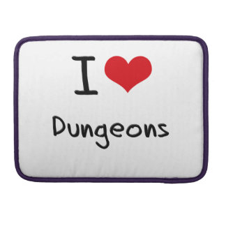 I Love Dungeons MacBook Pro Sleeves