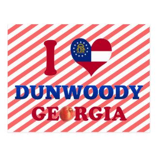 I Love Dunwoody, Georgia Postcard