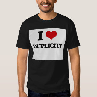 I love Duplicity Tshirts